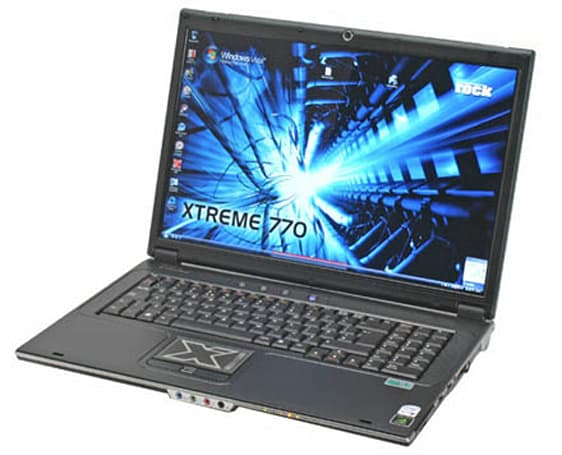 Rock Xtreme 770 notebook with GeForce 8800M GTX reviewed