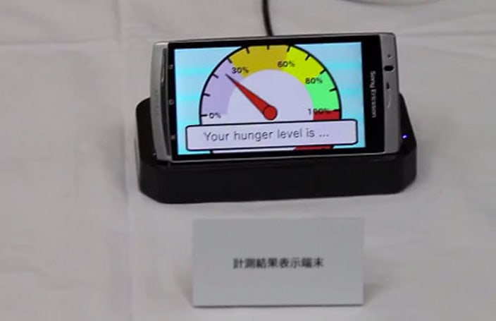 NTT DoCoMo's mobile accessories smell your breath, tell you to put the burger down (video)