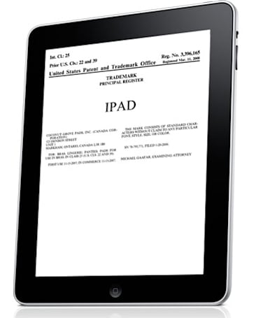 That was easy: Apple buys iPad trademark from Fujitsu
