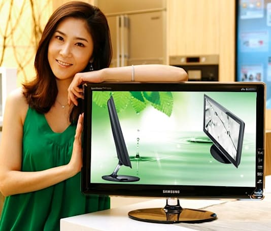 Samsung's new SyncMaster 70 displays consume 33% less energy, 0% less pizzazz