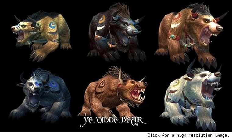 Updated druid forms coming with next WoW patch