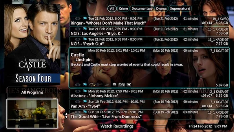 MythTV 0.25 is finally available with a bundle of new features