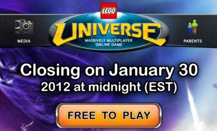 Pack up your toys: LEGO Universe is shutting down at midnight