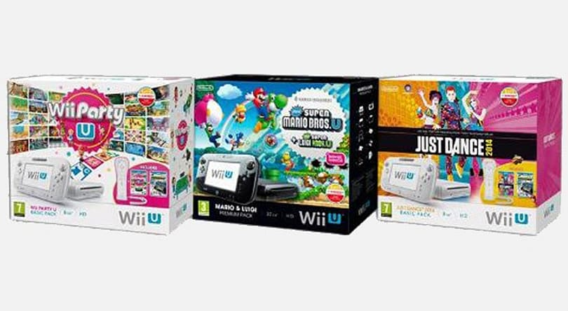 Nintendo's got three new Wii U bundles for UK dance parties