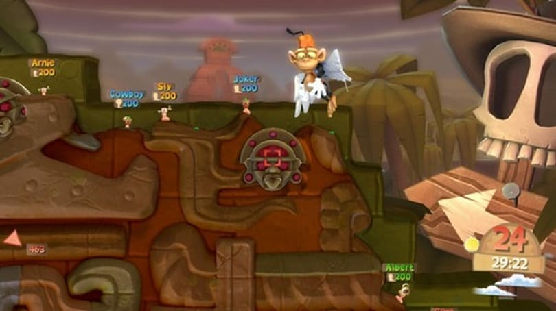 Worms: Clan Wars is free, series on sale this week through Steam