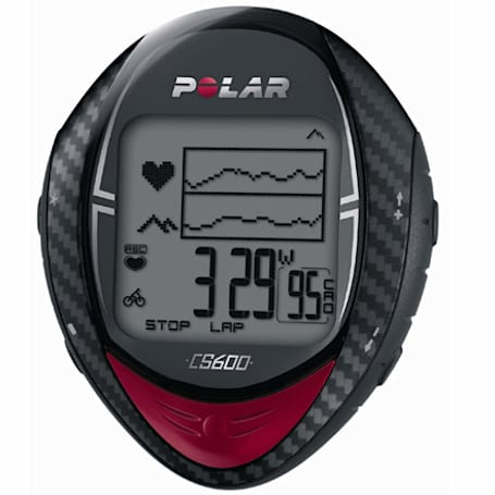Polar's CS600 cycling computer