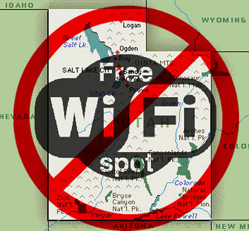 Utah lawmakers condemning open WiFi networks