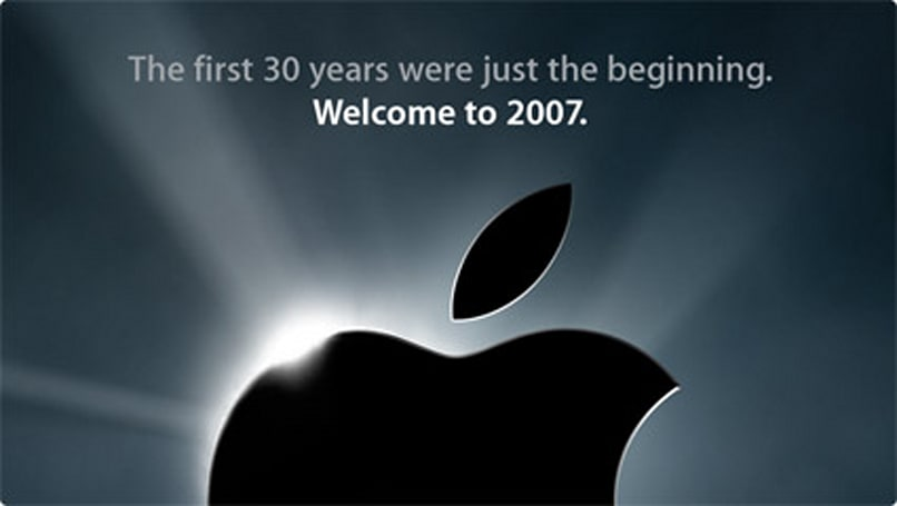 Apple web site features teaser shot