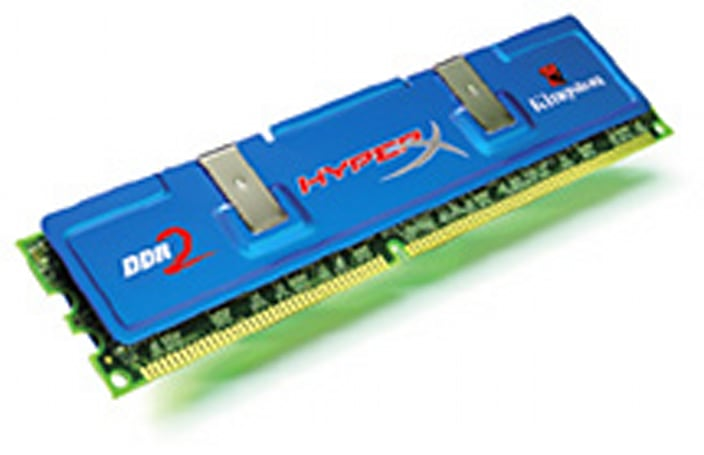 Kingston unveils blazing fast HyperX DDR2 RAM modules