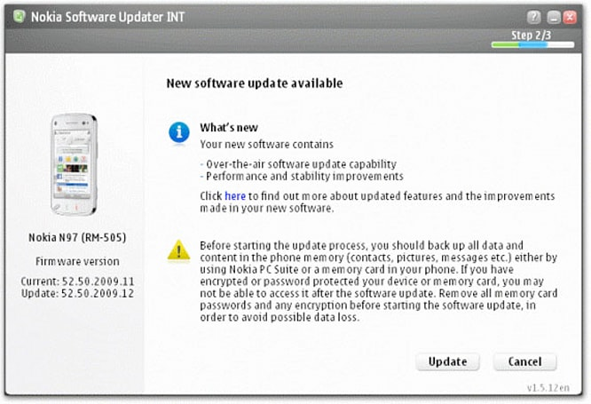 Nokia Software Updater adds love for Windows 7