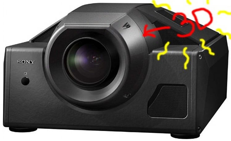 """Sony brings out its very own """"single-projector 3D adapter"""""""
