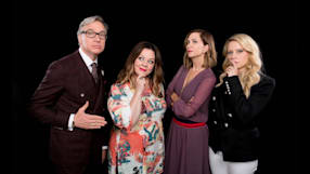 "Melissa McCarthy, Kristen Wiig, Kate McKinnon and Paul Feig On ""Ghostbusters"""