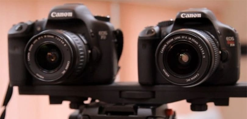Canon Rebel T2i / 550D squares off with EOS 7D in video performance test