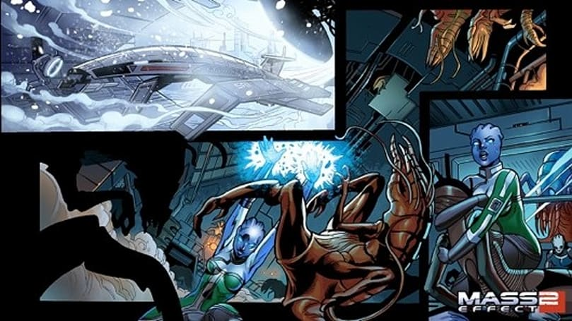 Mass Effect 2 motion comic now on XBLM
