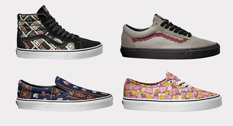 Nintendo and Vans team up on retro gaming sneakers