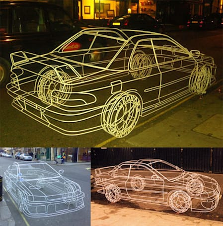 Caption Contest: the wireframe car