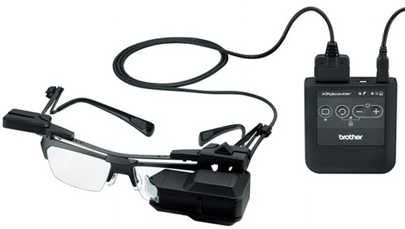 Brother AirScouter glasses bring augmented reality, unsightly add-ons to your face