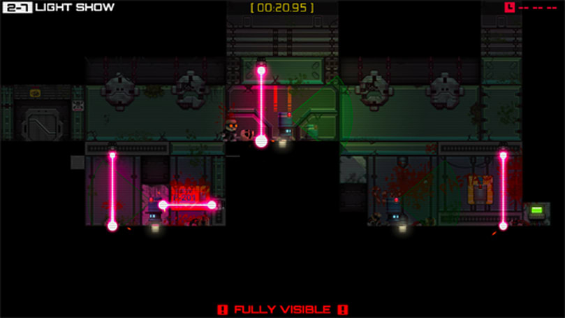 Stealth Inc: Ultimate Edition tip-toes to PS4 in March