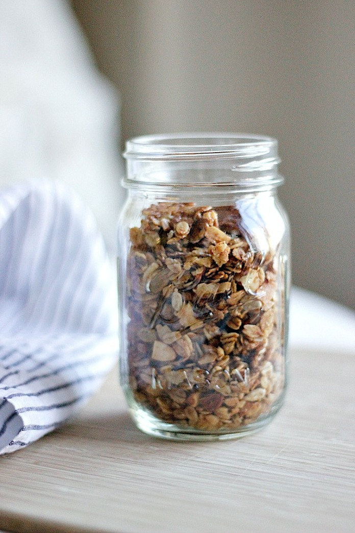 Make this: Olive oil granola