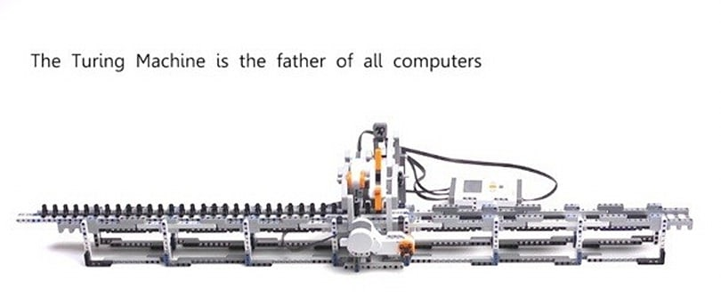 Alan Turing's breakthrough machine gets a loving Lego tribute (video)