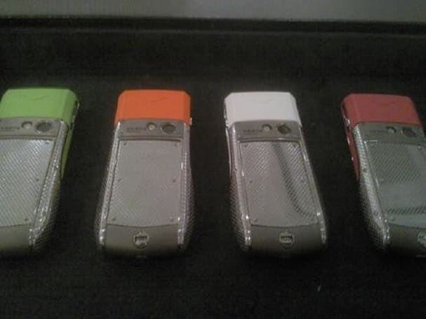 Vertu Ascent Ti Neon screams 'I'm rich and I watch Saved By The Bell reruns'