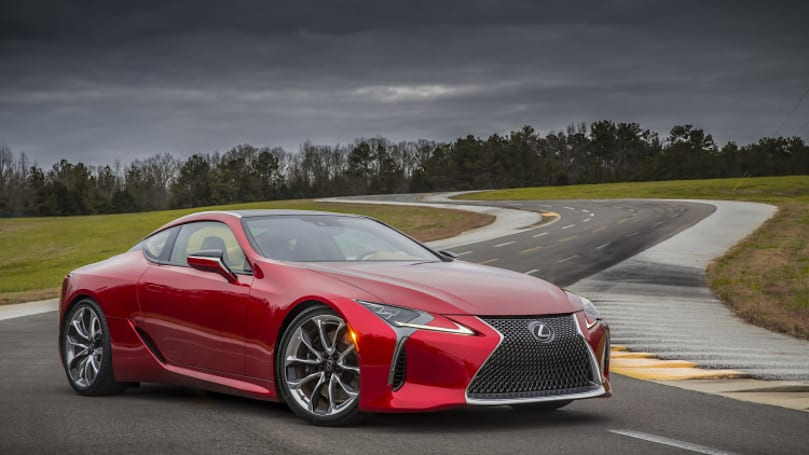 Video: 2017 LC 500 is the future of Lexus