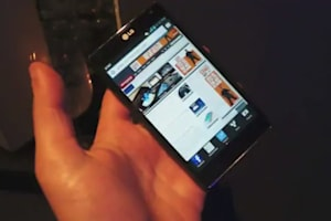 LG Optimus G For AT&T Hands-on