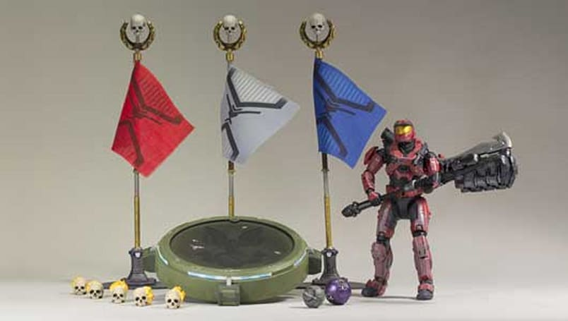 McFarlane's sixth Halo: Reach action figure series drops in February