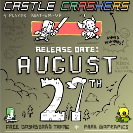 Alien Hominid owners get alien in Castle Crashers
