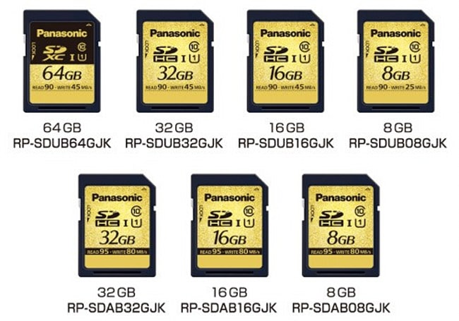 Panasonic preps SD cards that survive heat, water and X-rays, will probably outlast you