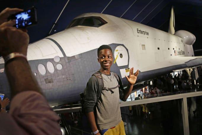 Celebrate 50 years of 'Star Trek' at NYC's Intrepid museum