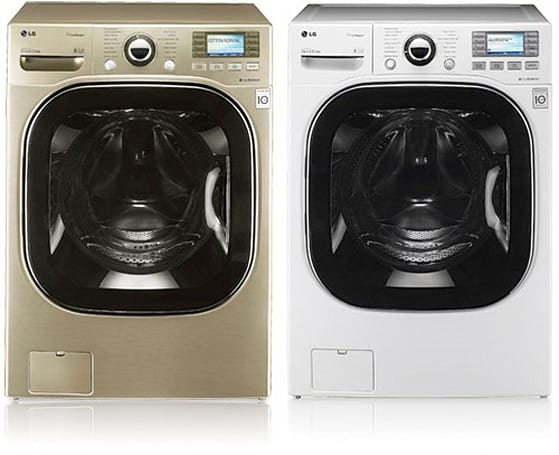 LG debuts washer and dryer that play 'tunes' for problem diagnosis