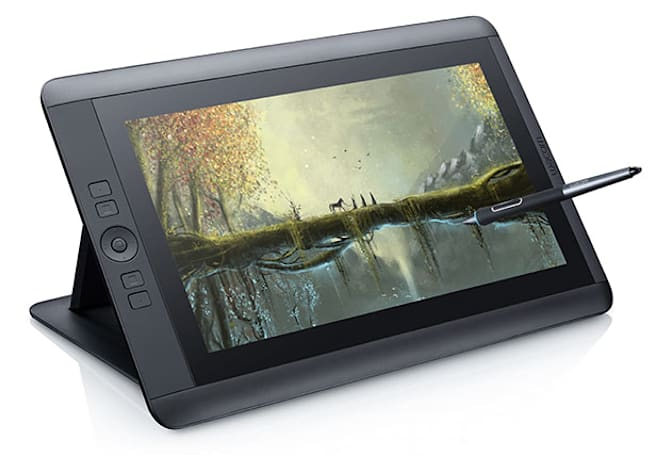 Wacom finally outfits its Cintiq 13HD pen display with touch gestures