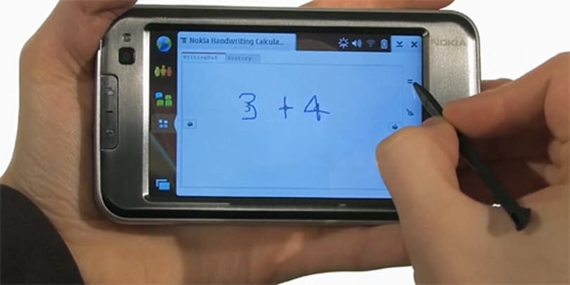 Nokia's Handwriting Calculator makes math cool again