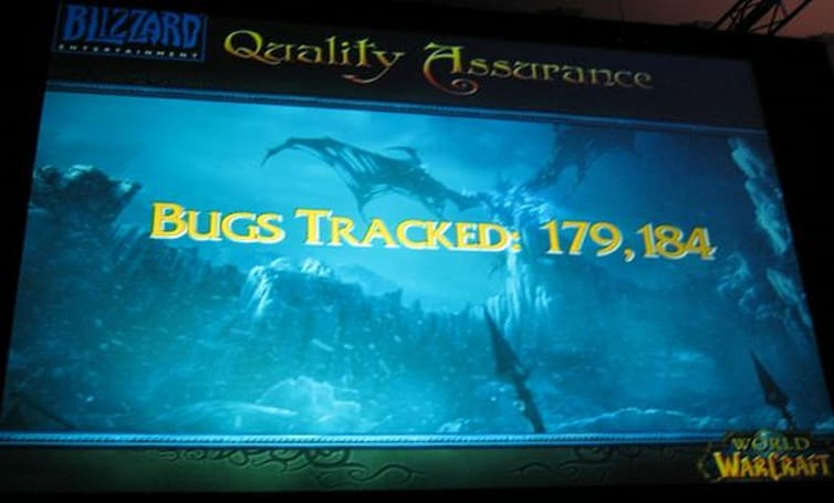 Blizzard is tracking 180,000 bugs in WoW