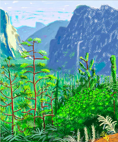De Young Museum exhibit highlights the iPad art of David Hockney