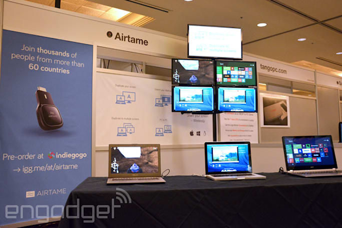 Airtame wireless screen-mirroring dongle shipping in October for $99
