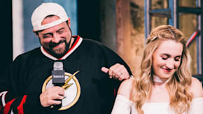 Kevin Smith On Ben Affleck's Inappropriate Ad Libs