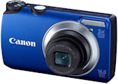 Canon's CES 2011 PowerShot quartet: A3300 IS, A2200, A1200, and the $89 A800