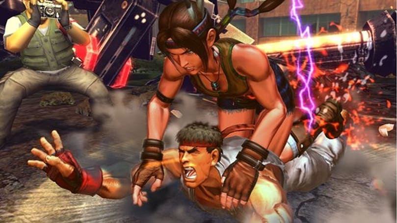 Street Fighter X Tekken: Cole MacGrath pummels Ken on Vita