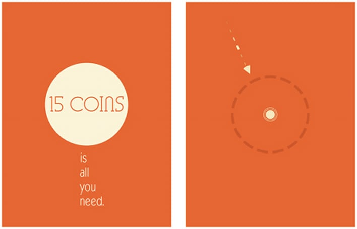 Daily App: 15 Coins challenges you to collect coins while being chased by clones