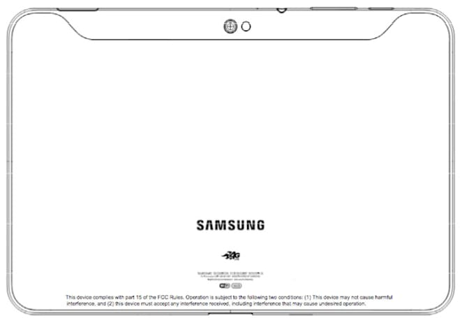 Label outs AT&T 4G LTE version of the Galaxy Tab 10.1 creeping through the FCC