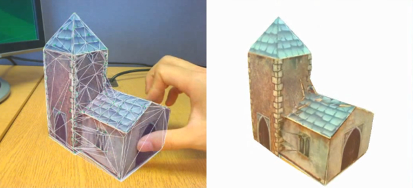Cambridge's ProFORMA does 3D scanning with any stationary webcam