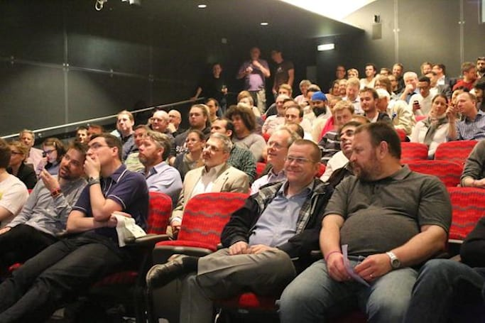 London Mac User Group doing the 9/9 Apple keynote in style