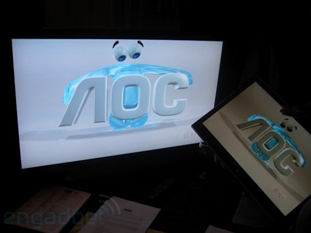 Hands-on with AOC's latest LCD displays