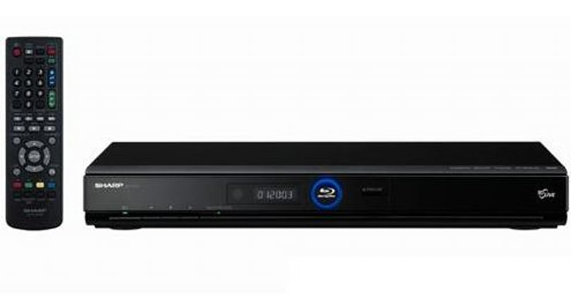 Sharp BD-HP22H takes a green approach to Blu-ray in the U.K.