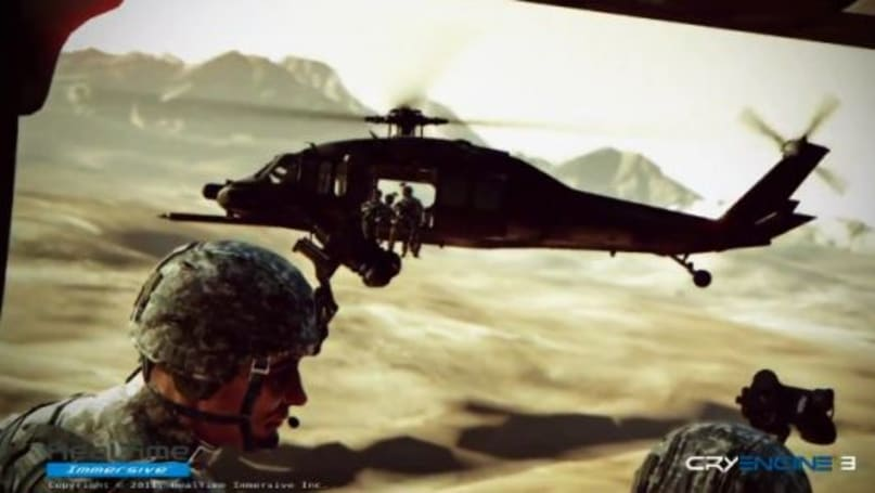 US Army game developers show off CryEngine 3-powered environments