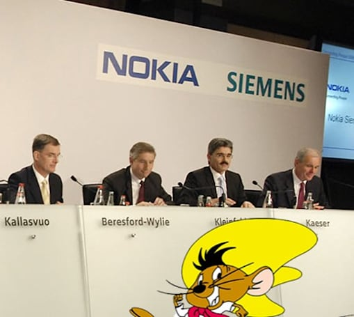 Nokia Siemens makes multi-carrier HSPA+ hurtle at 336Mbps