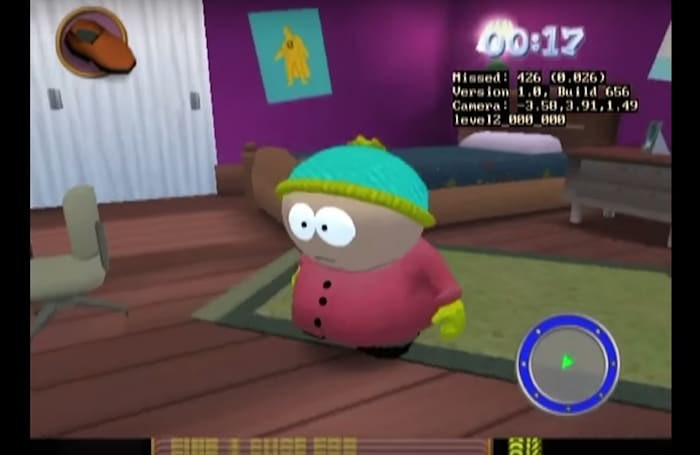 See an unreleased 'South Park' game running on the original Xbox
