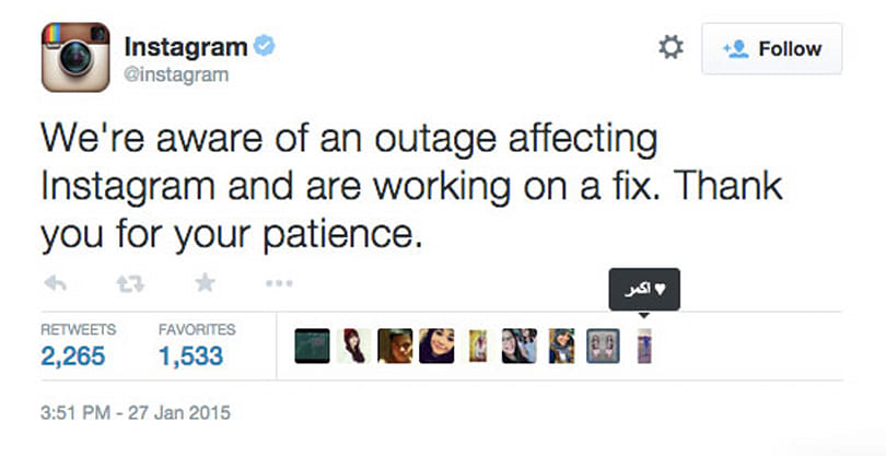 Facebook and Instagram get knocked offline... for about an hour